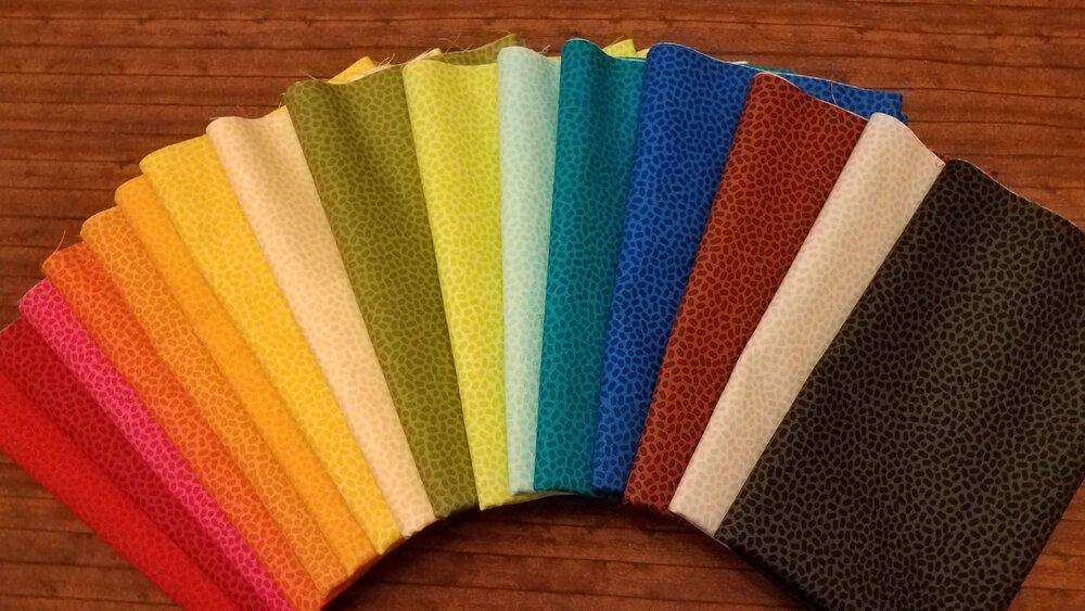 Speckles by Patrick Lose - 16 Piece FULL Yard Bundle Pack