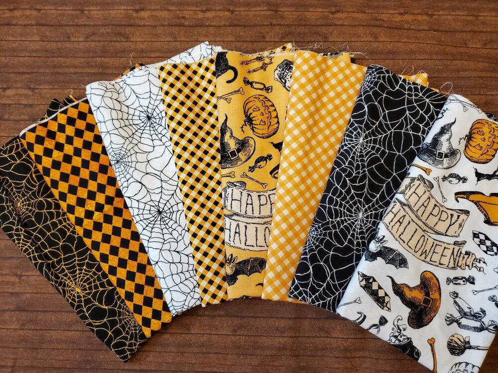 Happy Halloween by Patrick Lose - 8 Piece Half Yard Bundle Pack