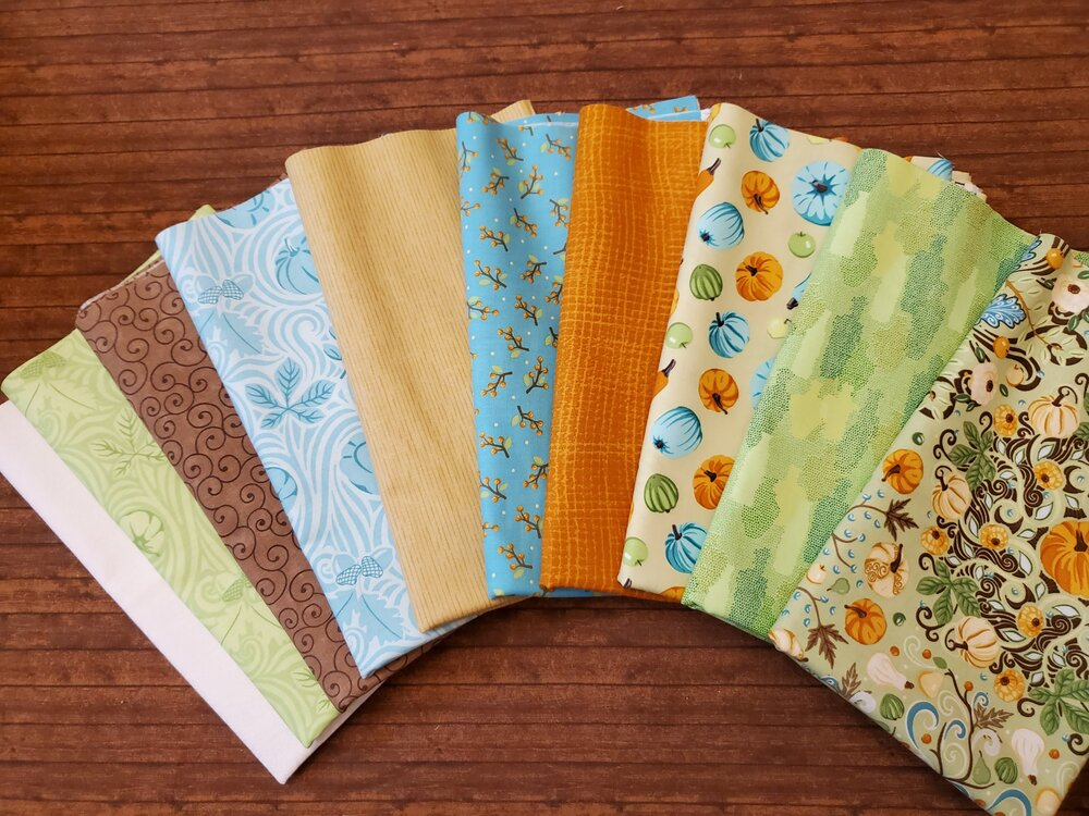 Thankful by Amanda Murphy for Contempo - 10 Piece Half Yards PLUS Panel Bundle Pack