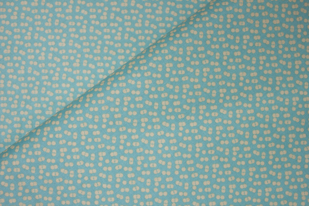 Yellow Design on Aqua - Forget Me Not by Tammie Green for Riley Blake Fabrics