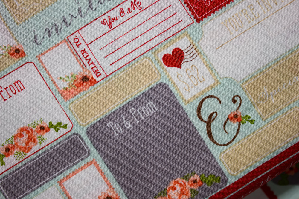Labels, Invitations, and Stamps on Mint: Rustic Elegance for Riley Blake