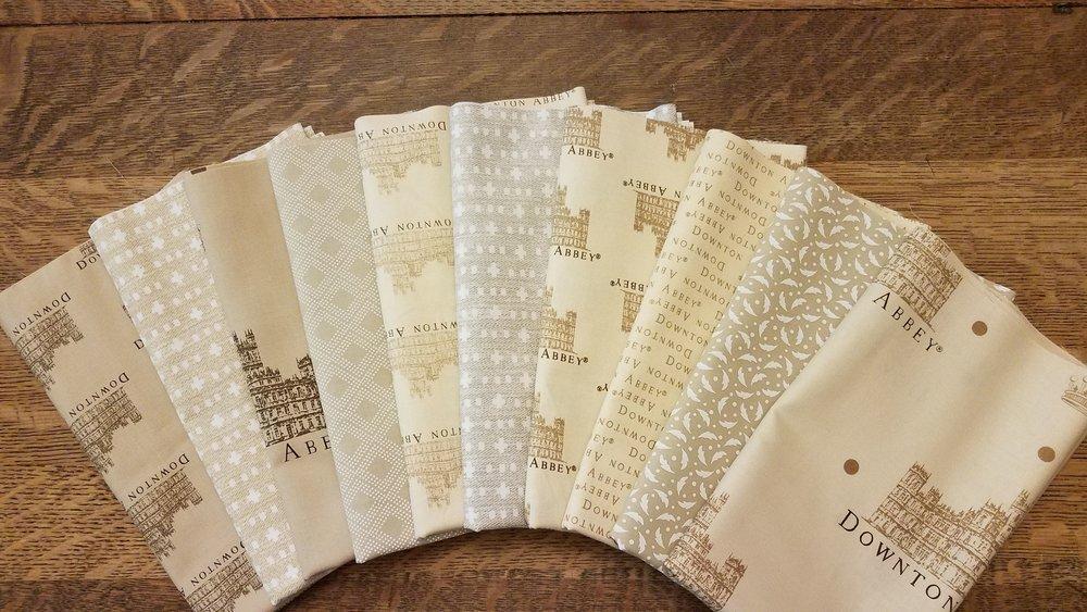 Mainly Downton Abbey Neutrals - 10 Piece Half Yard Bundle Pack