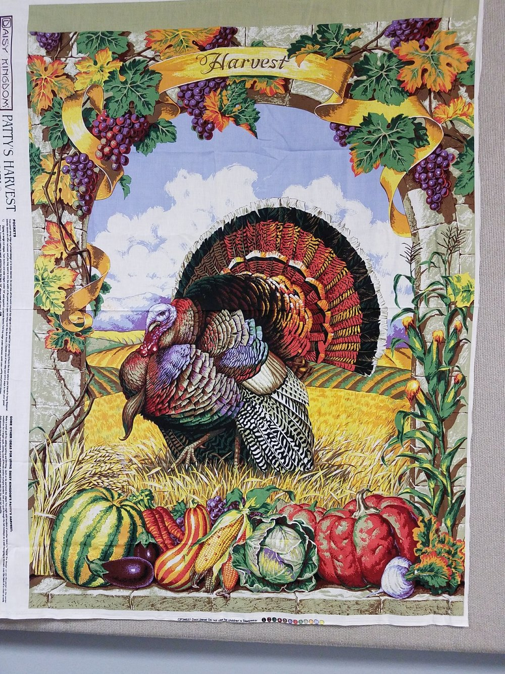 Patty's Harvest Door Panel by Daisy Kingdom