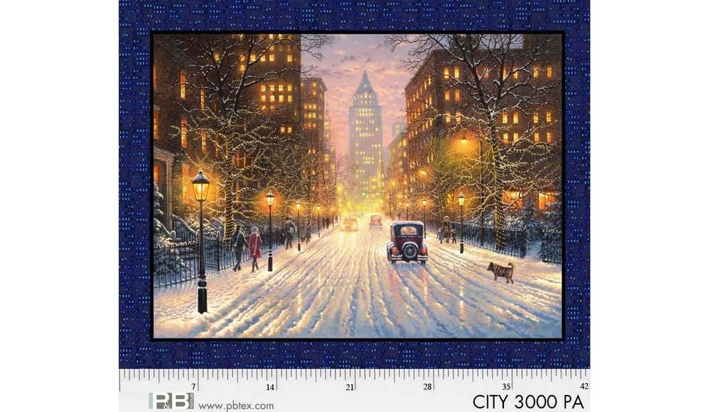 City Lights by P and B Textiles