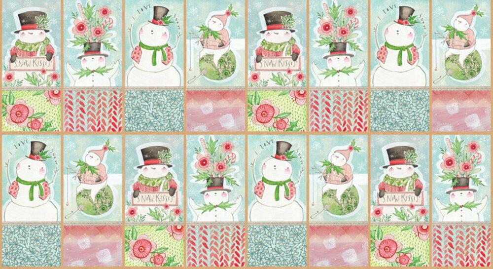 Snow Fun Panel by Blend Fabrics