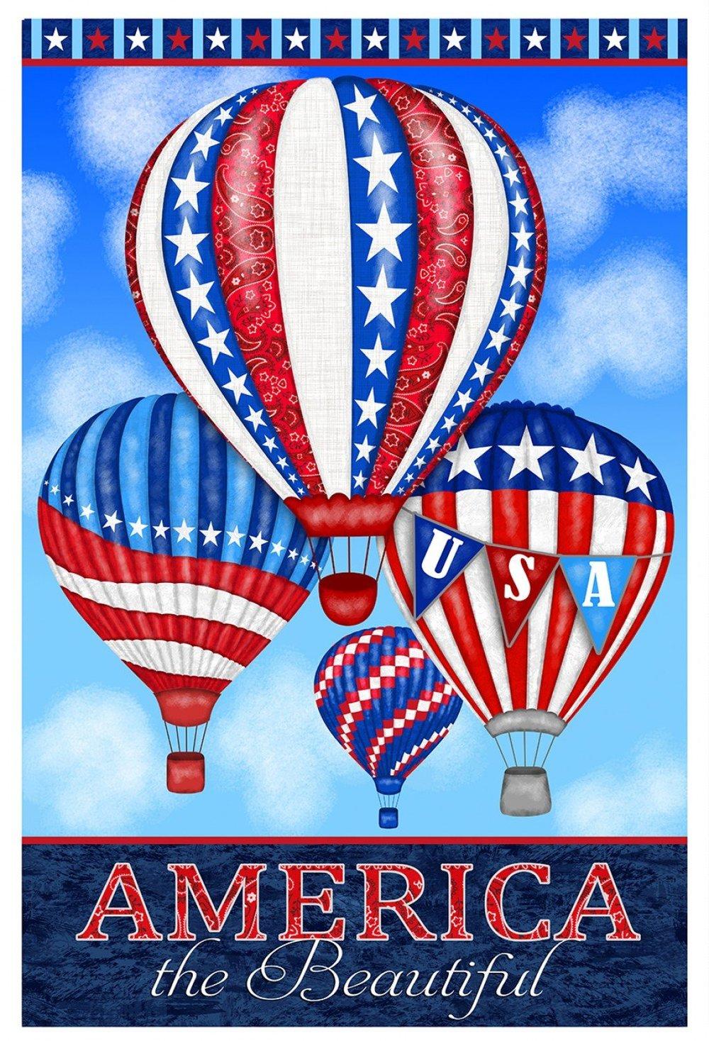 America, Home of the Brave, Balloon Panel by Studio E - Patriotic Panel