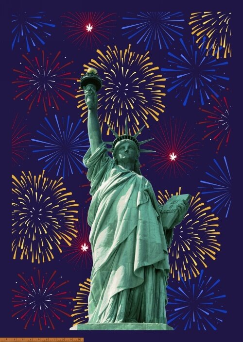 Lady Liberty by Whistler Studios for Windham Fabrics