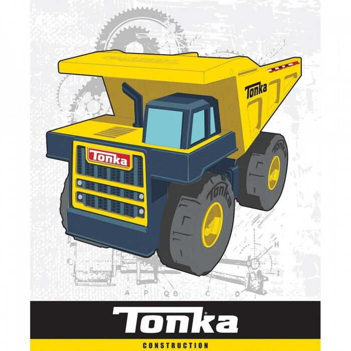 Tonka Trucks Quilt Panel by Camelot Fabrics