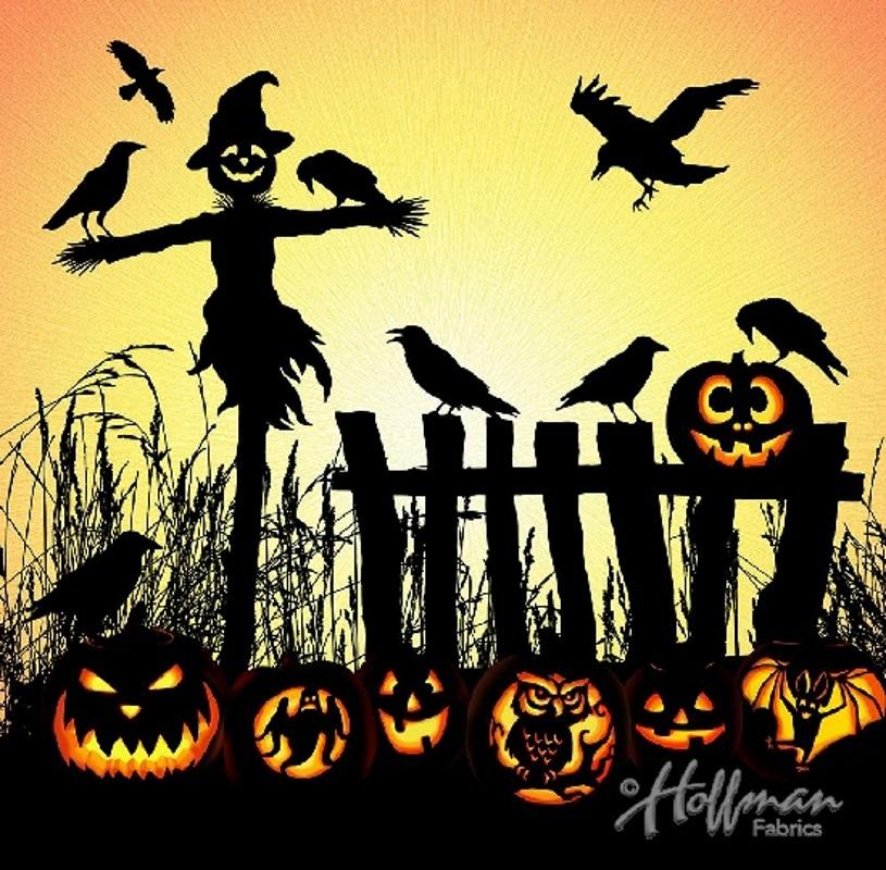 Scarecrow and Jack-O-Lanterns - Supernova Seasons - Hoffman Digital Panel
