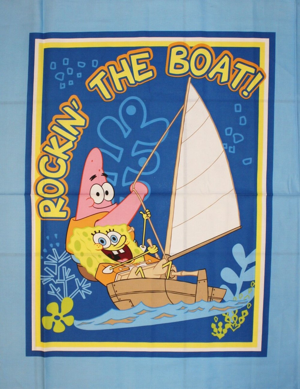 Sponge Bob Rockin' the Boat by Springs Creative