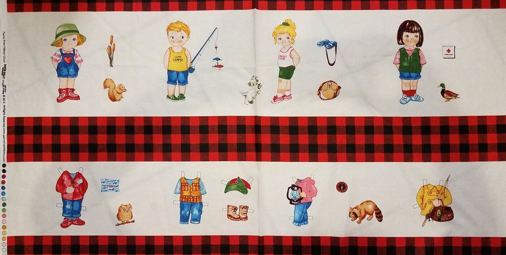 Paper Dolls by Siblings Art Studio for Penny Rose Fabrics