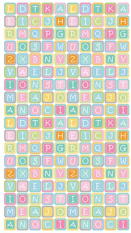 Small Alphabet Blocks by Benartex