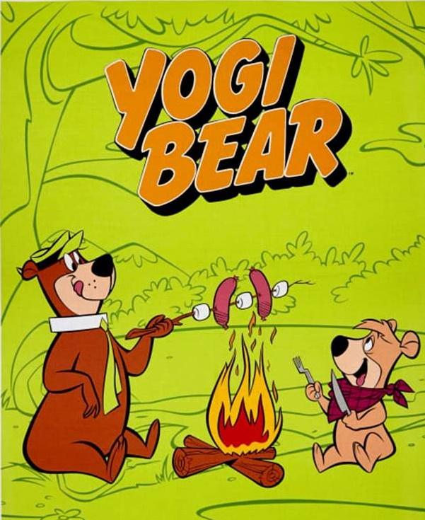 Yogi Bear Panel by Warner Brothers