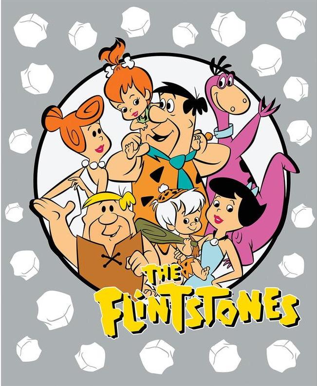 The Flintstones Gang Panel by DC Comics