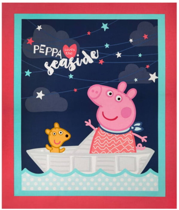 Peppa: The Seaside Panel by Astley Baker Davies for Springs Creative