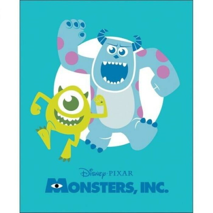 Monsters, Inc by Disney Pixar for Camelot Fabrics