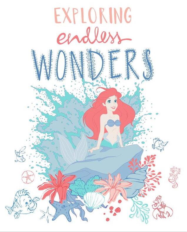 Disney's Little Mermaid Exploring Endless Wonders Quilt Panel for Camelot Fabrics