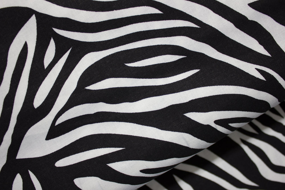 Animal Print #4 - Large Zebra Stripe