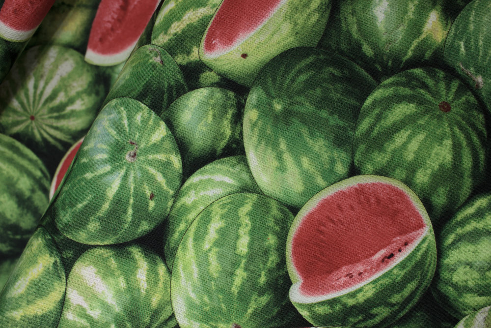 SPECIALTY FABRICS ROOM: Packed Watermelon: Food Festival by Elizabeth's Studio