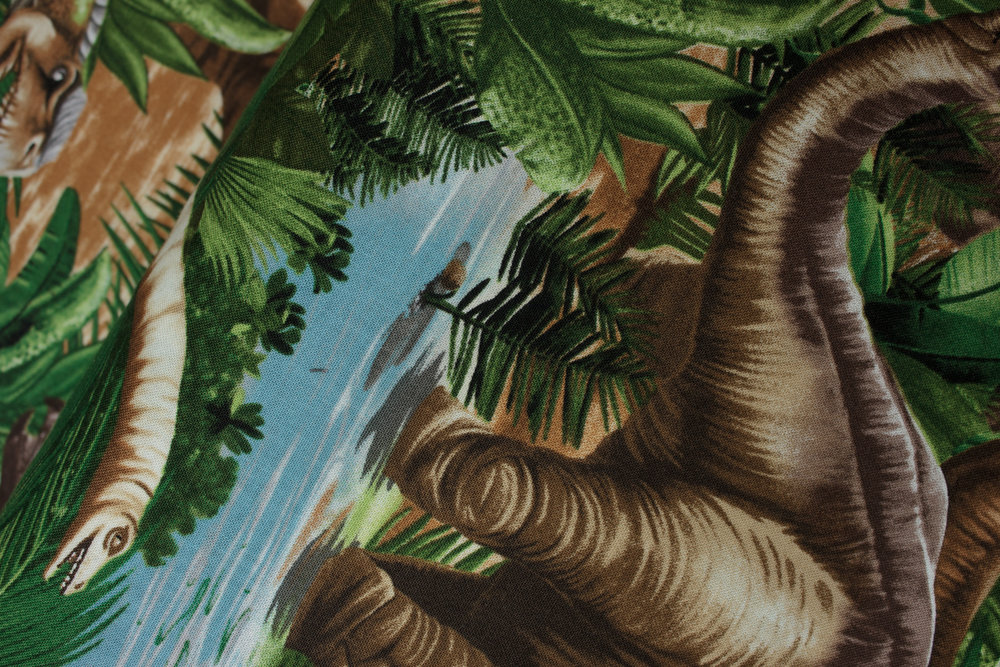 SPECIALTY FABRICS ROOM: Large Dinosaurs by Michael Searles for Timeless Treasures