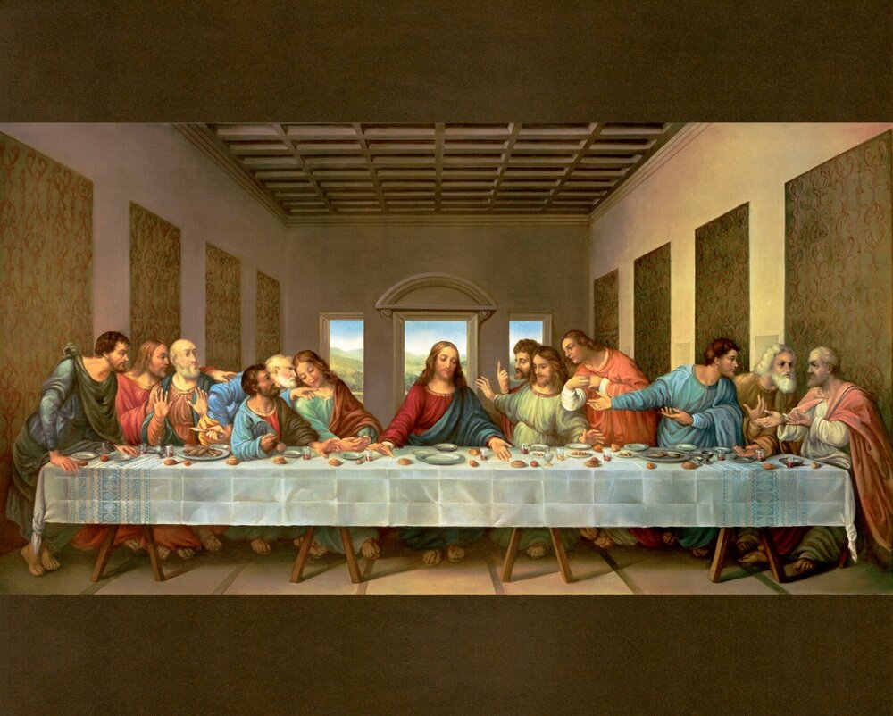 The Last Supper by David Textiles