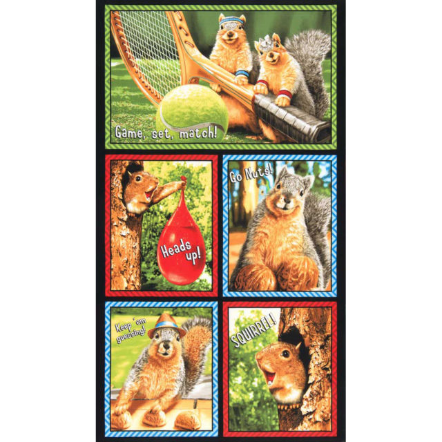 Squirrel!! by Avanti Press for Robert Kaufman