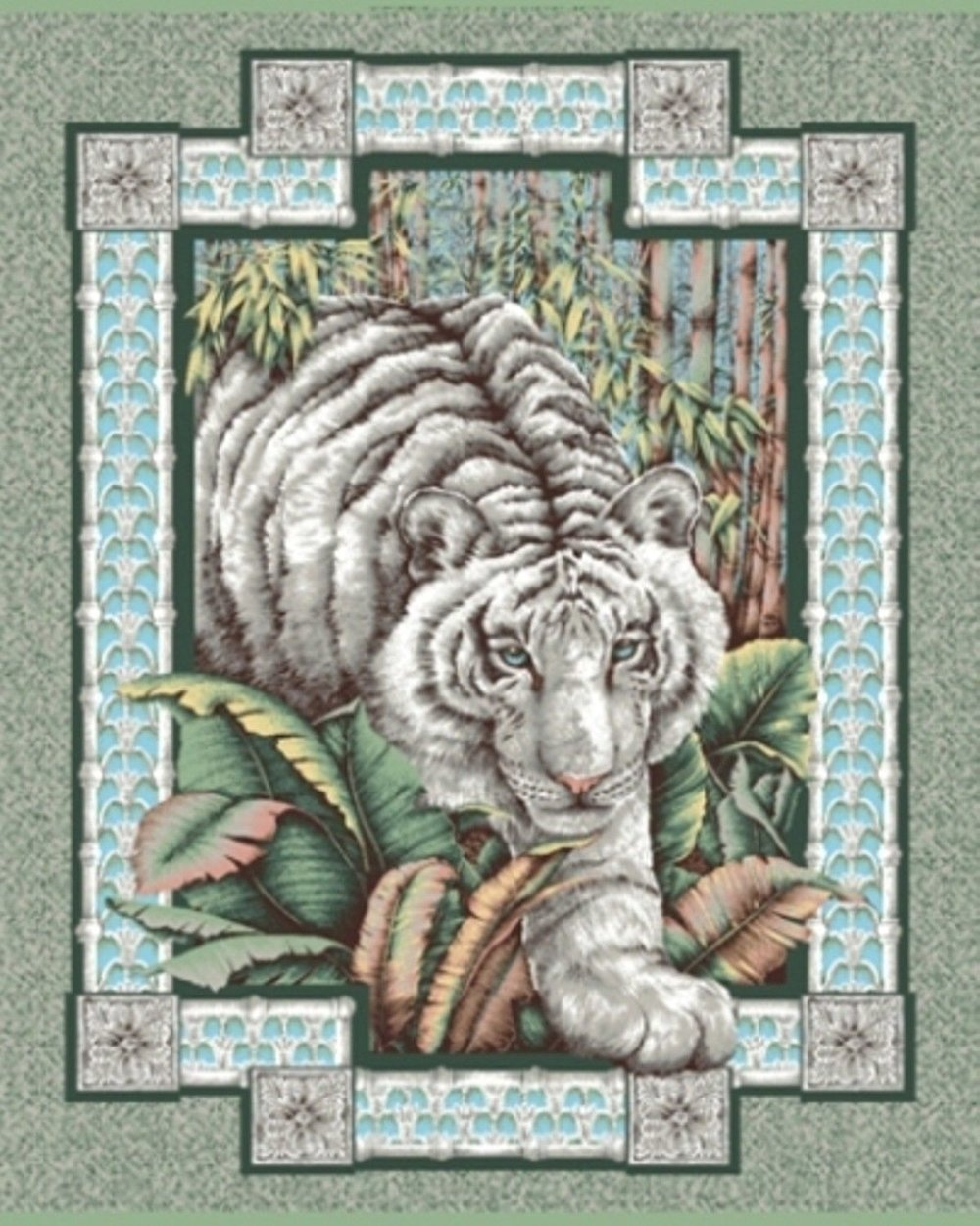 Alabaster Jungle - White Tiger - for Concord Prints