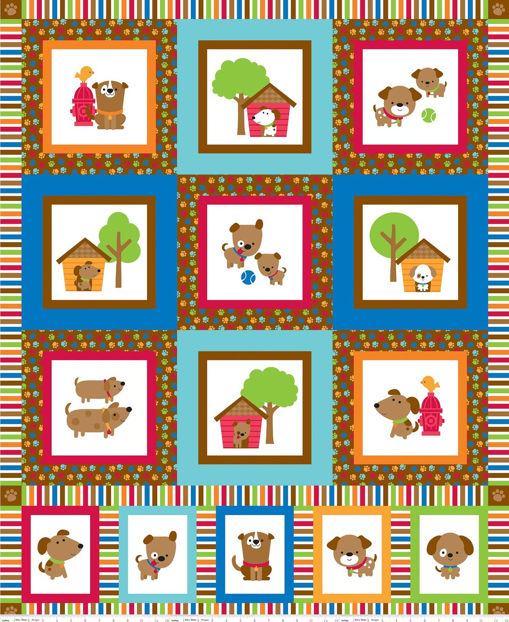 Puppy Love by Doodlebug Design for Riley Blake Fabrics