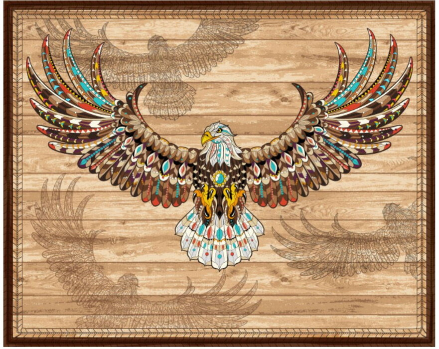 Southwestern Eagle by Fabric Traditions