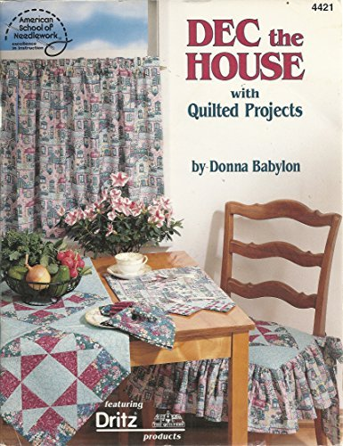 Dec the House with Quilted Projects by Donna Babylon