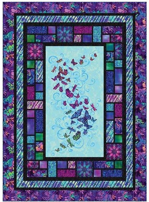 Aflutter - FREE Quilt Pattern by Studioe