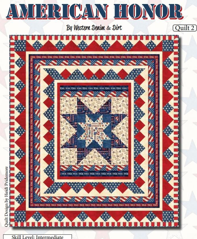 American Honor - FREE Quilt pattern by Blank Quilting