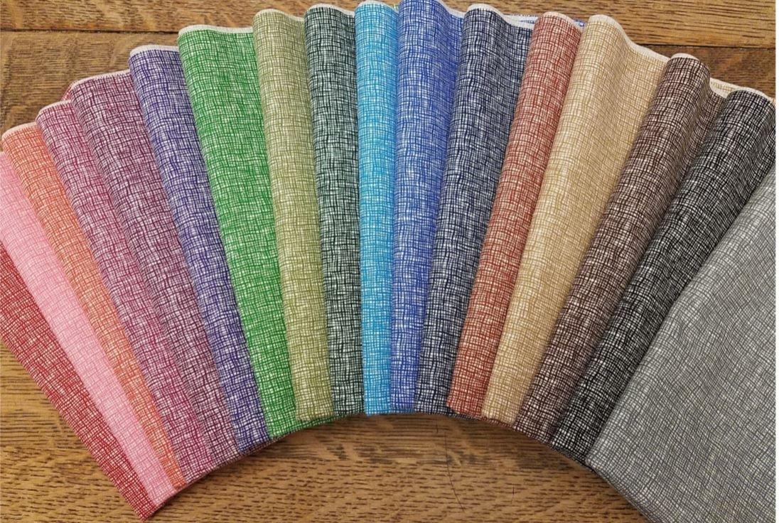 Basket Weave - Rachael's Picks - 17 Piece Half Yard Bundle Pack