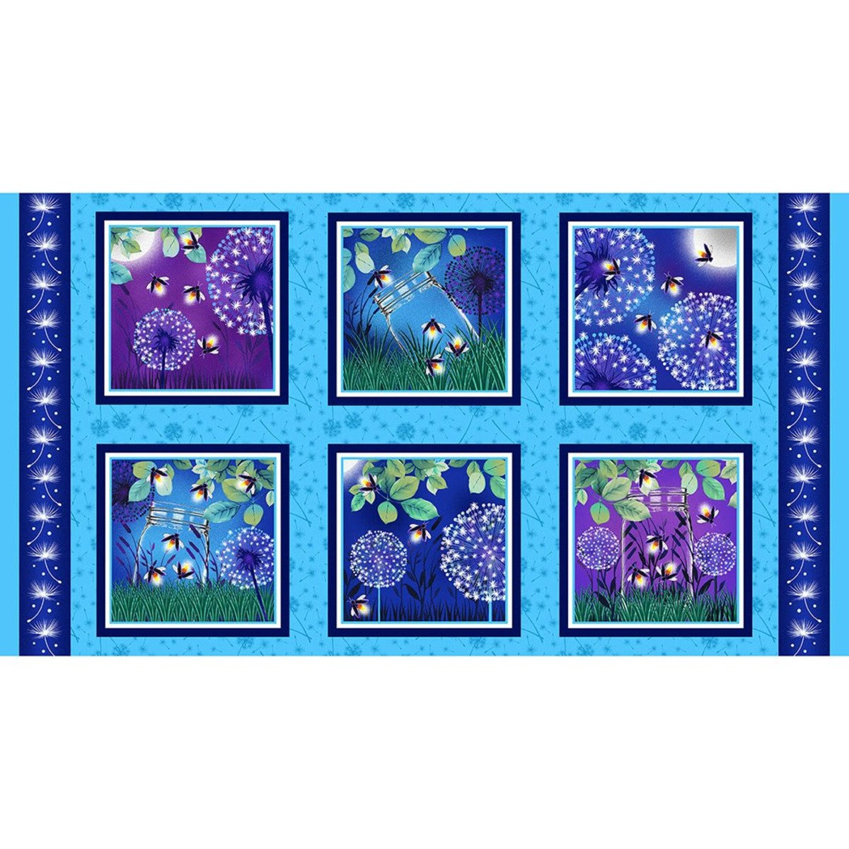 Let Your Light Shine Blocks Quilt Panel by Blank Quilting