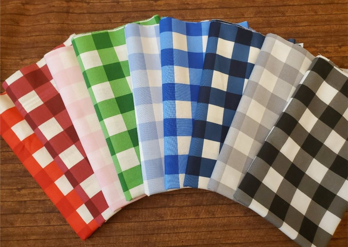 Checkers - Rachael's Picks - 9 Piece Half Yard Bundle Pack