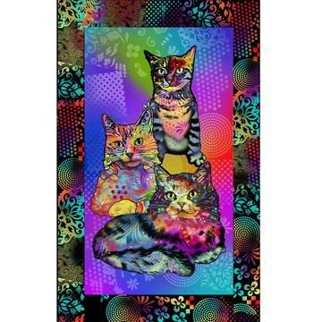 Kitty Power - Crazy for Cats - by Kitty Warhol Designs for Sykel