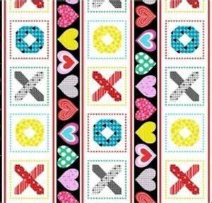Big Love Valentine's Quilt Panel by Studio-E Fabrics