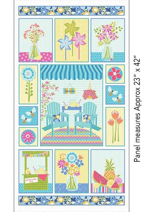 Front Porch Quilt Panel by Contempo Fabrics for Benartex