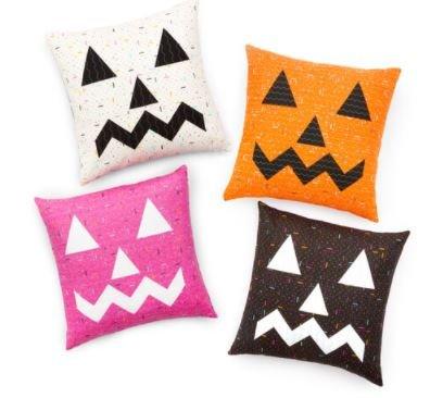 Jack-O-Lantern Double Sided FREE Pillow Pattern