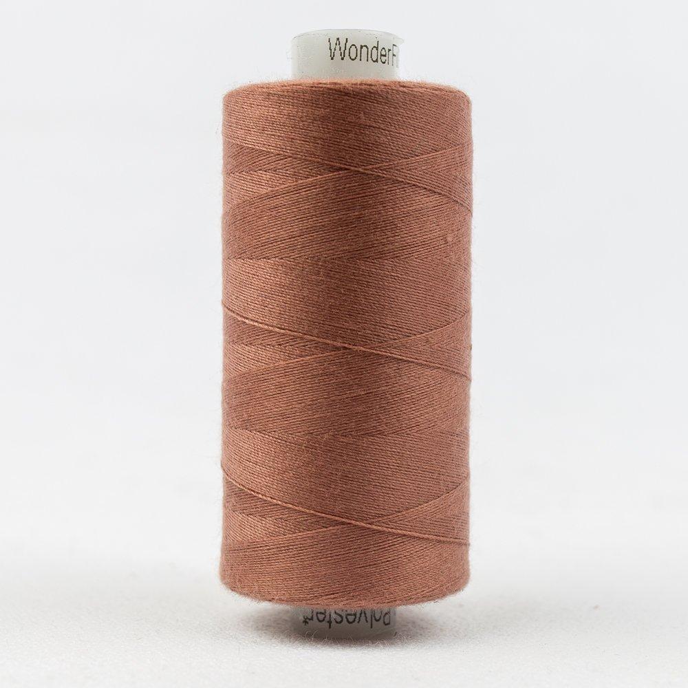 San Juan Court Thread:  Designer Series - Wonderfil Thread, 1094 yards - 1000m, 40 wt, 100% All-Purpose Polyester