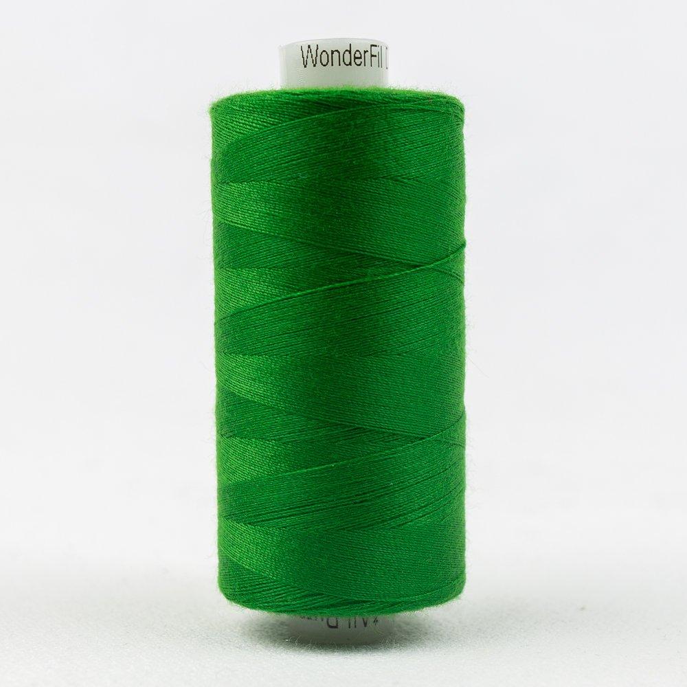 Forest Green Thread:  Designer Series - Wonderfil Thread, 1094 yards - 1000m, 40 wt, 100% All-Purpose Polyester