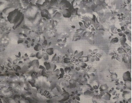 108 Faded Flowers Blender Backing Fabric