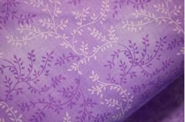 3 Yard Backing Piece: 108 Wide Lavender Variegated Branches in a single 3 yard piece