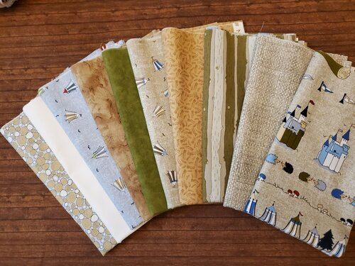 Little Ollie by Stof Fabrics - 10 Piece Half Yard Bundle Pack