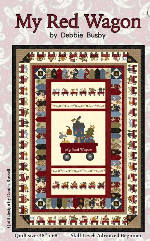 My Red Wagon Quilt - FREE Quilt Pattern by Henry Glass Fabrics