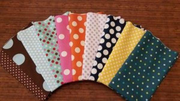 Totally Mixed Dots #1 - 10 Piece Half Yard Bundle Pack