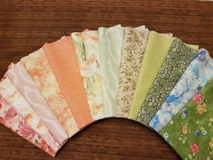 Garden Grandeur by Quilting Treasures - 12 Piece Half Yard Bundle Pack
