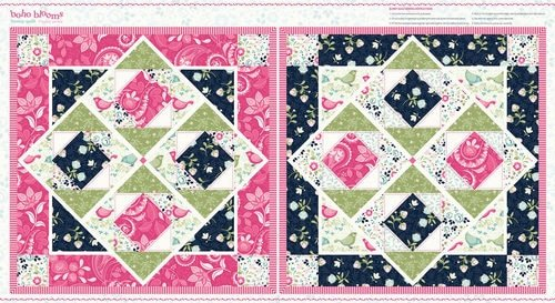 Boho Blooms - Pillow Panels by Studio E