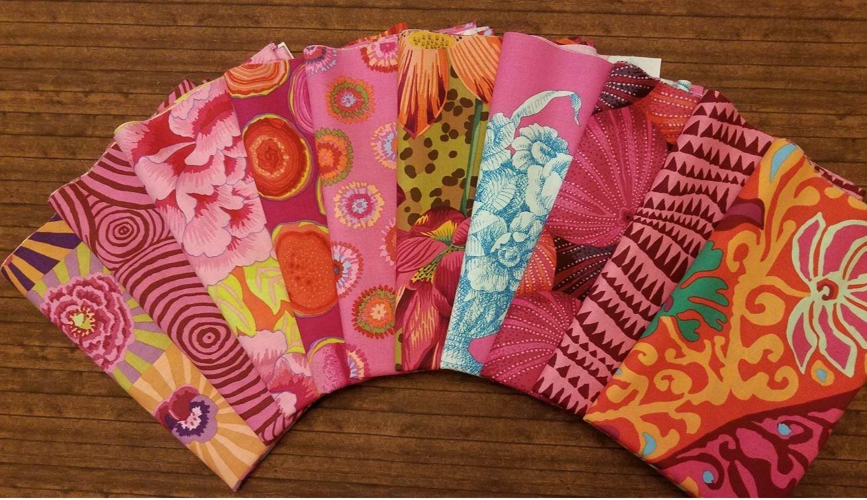 Pink Kaffe - 10 Piece Half Yard Bundle Pack