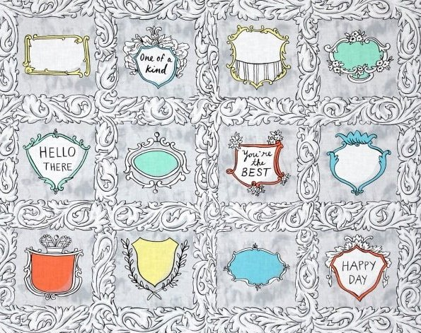 Flourish Quilt Labels by Andover Fabrics